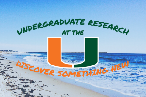 Research at the U with Ocean Background
